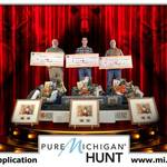2018 Pure Michigan Hunt winners take home winnings