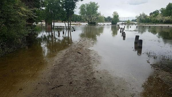 Flooding Continues To Impact Yellowstone River Fishing Access Sites