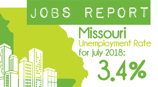 Missouri Releases July 2018 Jobs Report