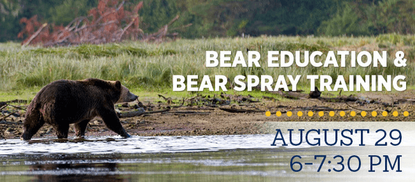 Bear Education & Bear Spray Training